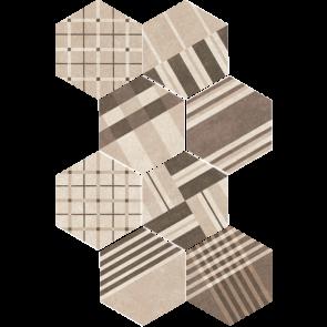 Hexatile Cement Geo Sand
