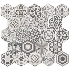 Hexatile Mate Harmony B&W