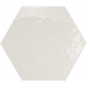 Hexatile Blanco Brillo