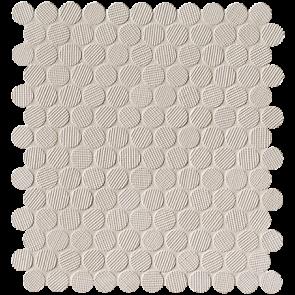 Milano&Wall Beige Round Mosaico