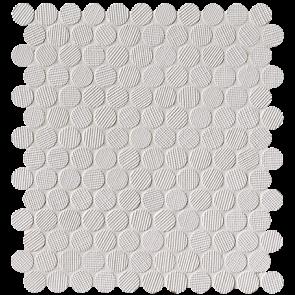 Milano&Wall Bianco Round Mosaico