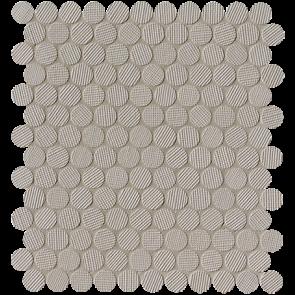 Milano&Wall Tortora Round Mosaico