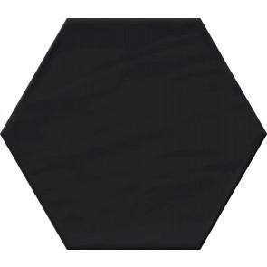 Monochrome Hexagon Black Brillo