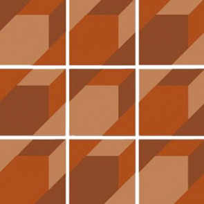 Triomix Sand/Rust/Brick Set 15 Pcs