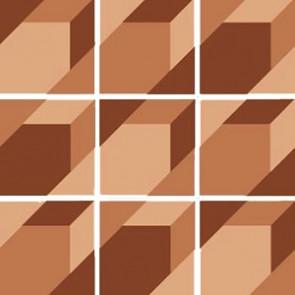 Triomix Blush/Sand/Brick Set 15 Pcs