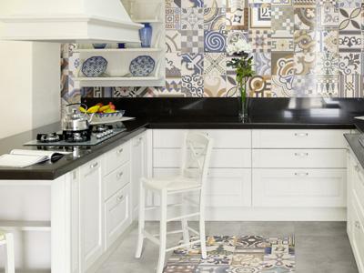 Piastrelle per cucina ceramiche per pavimenti e rivestimenti for Piastrelle parete cucina